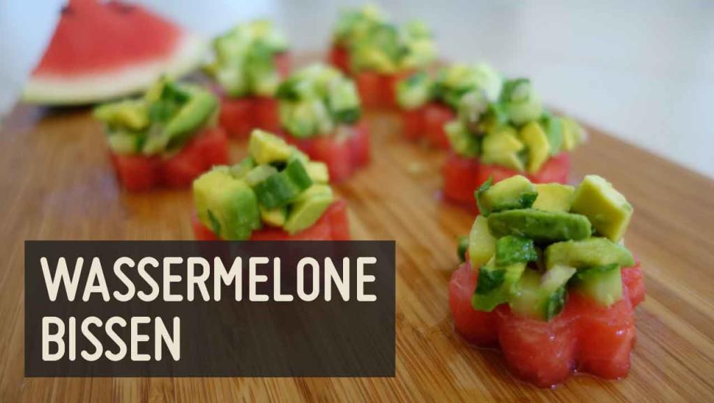 Wassermelone Bissen Rezept