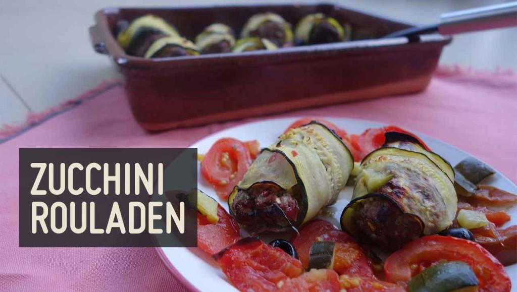 Zucchini Rouladen