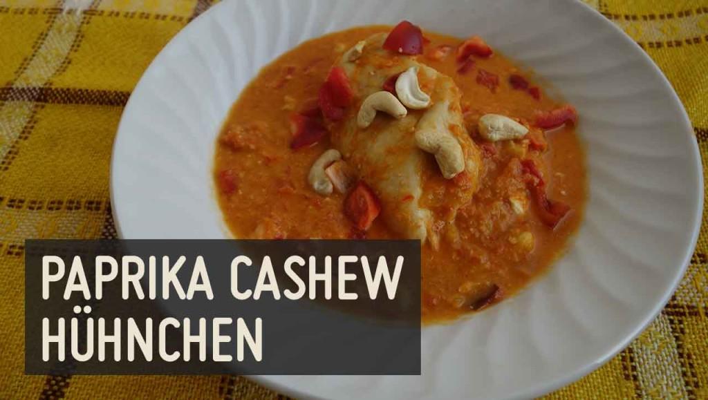 Paprika Cashew Hühnchen