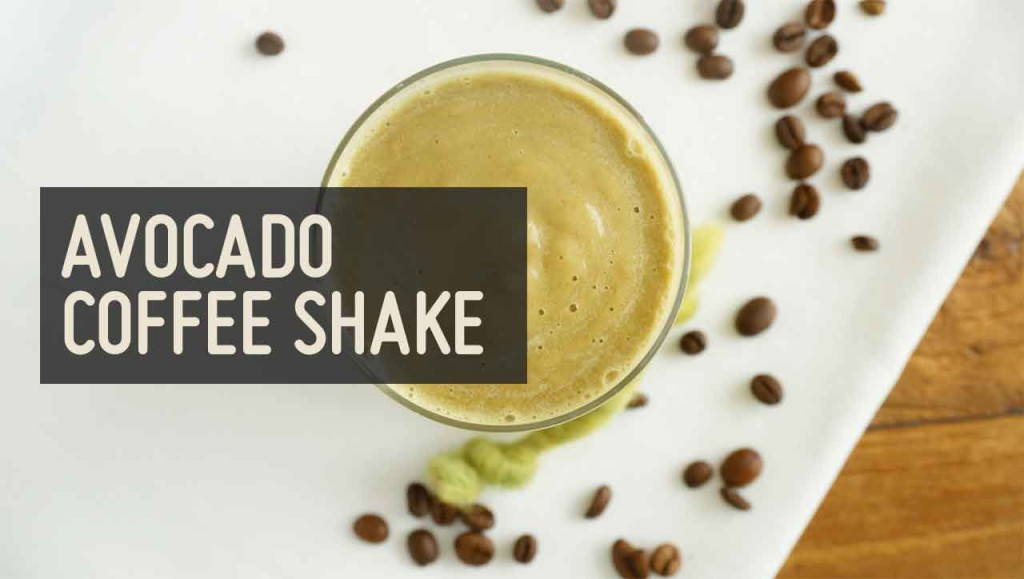 Avocado Coffee Shake