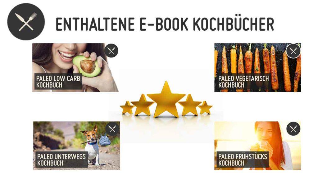 Enthaltene E-Book Kochbücher