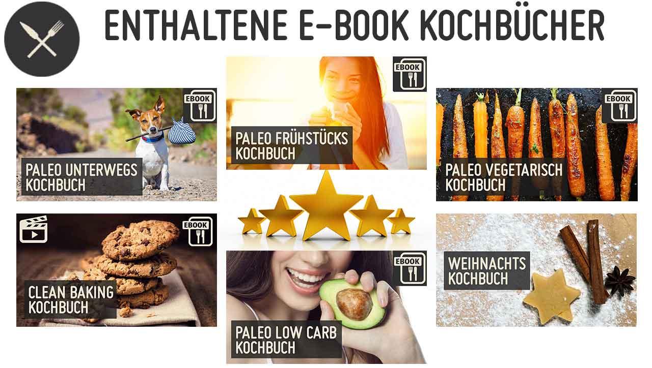 enthaltene Kochbücher