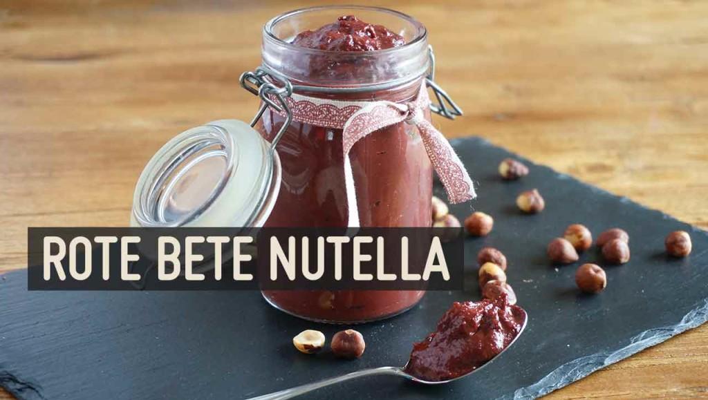 Rote Bete Nutella