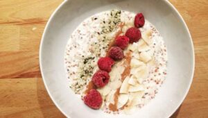 Kokos Porridge