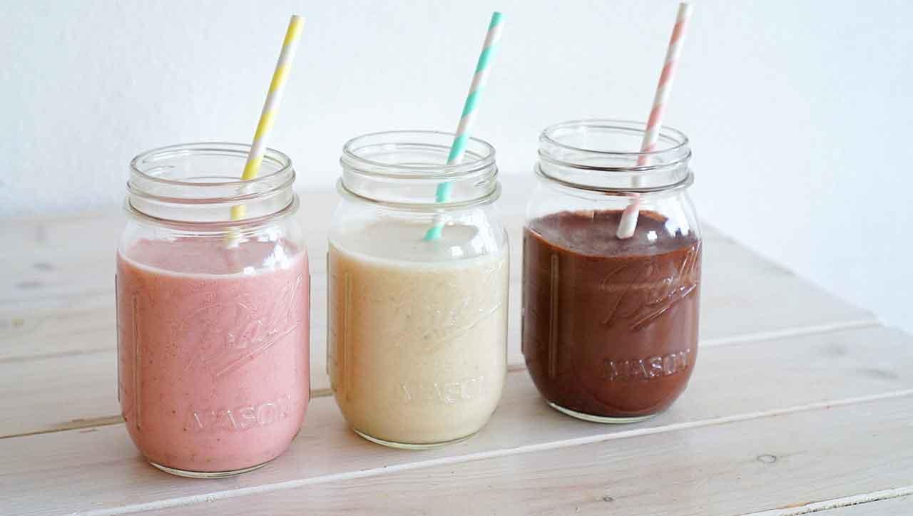 Tipp: Die Fruchtmilch schmeckt kalt und warm