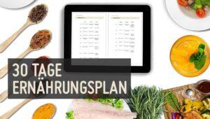 30-Tage-Ernährungsplan
