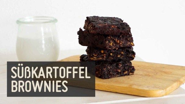 Süßkartoffel Brownies
