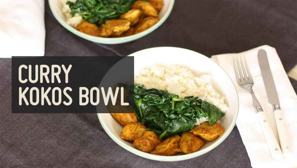 Curry Kokos Bowl