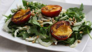 Pfirsisch Fenchel Salat Rezept