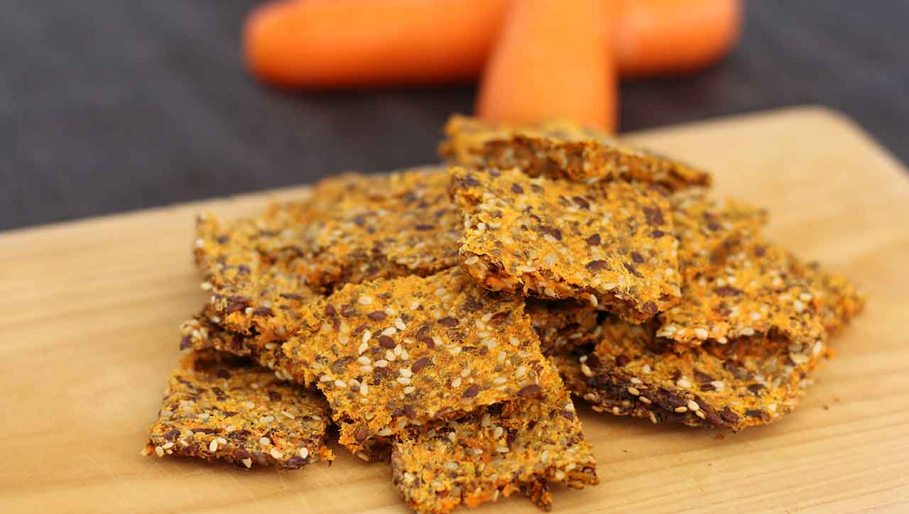 Möhren Cracker Rezept