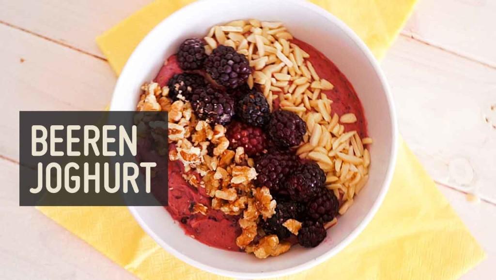 Beeren Joghurt