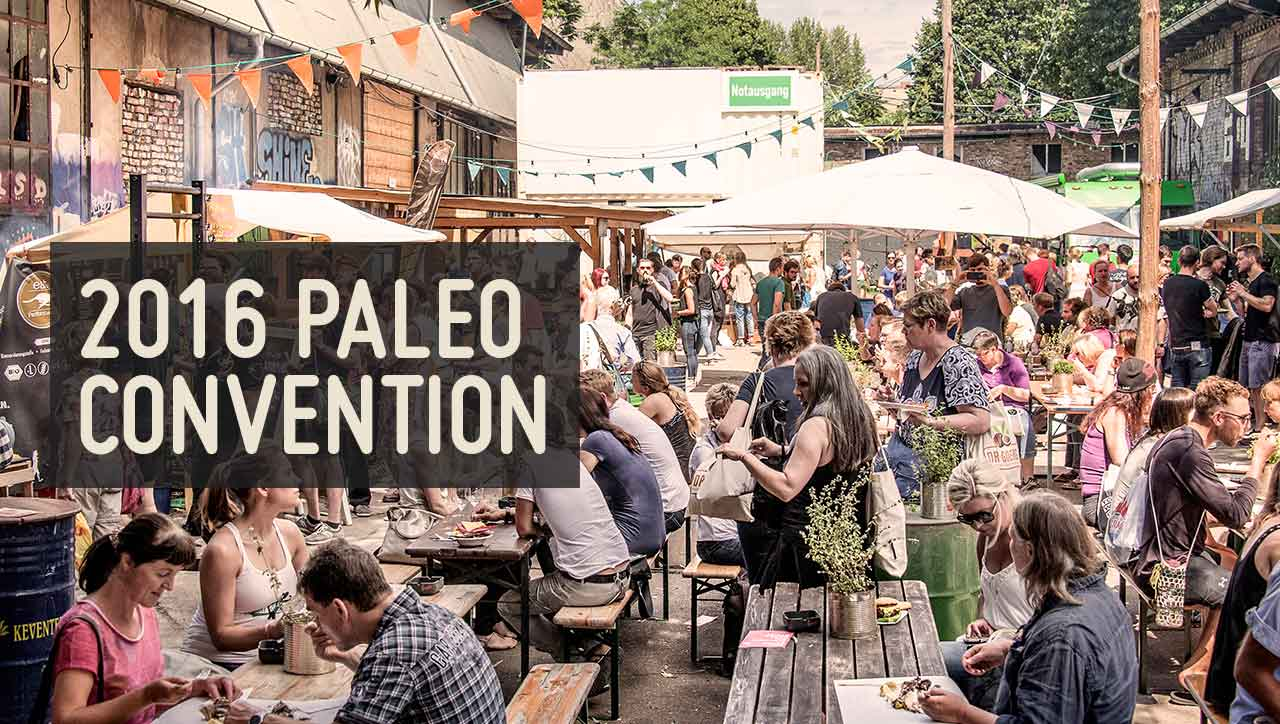 Paleo Convention im August 2016 in Berlin