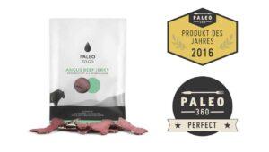 Produkttest Trockenfleisch Paleo To Go
