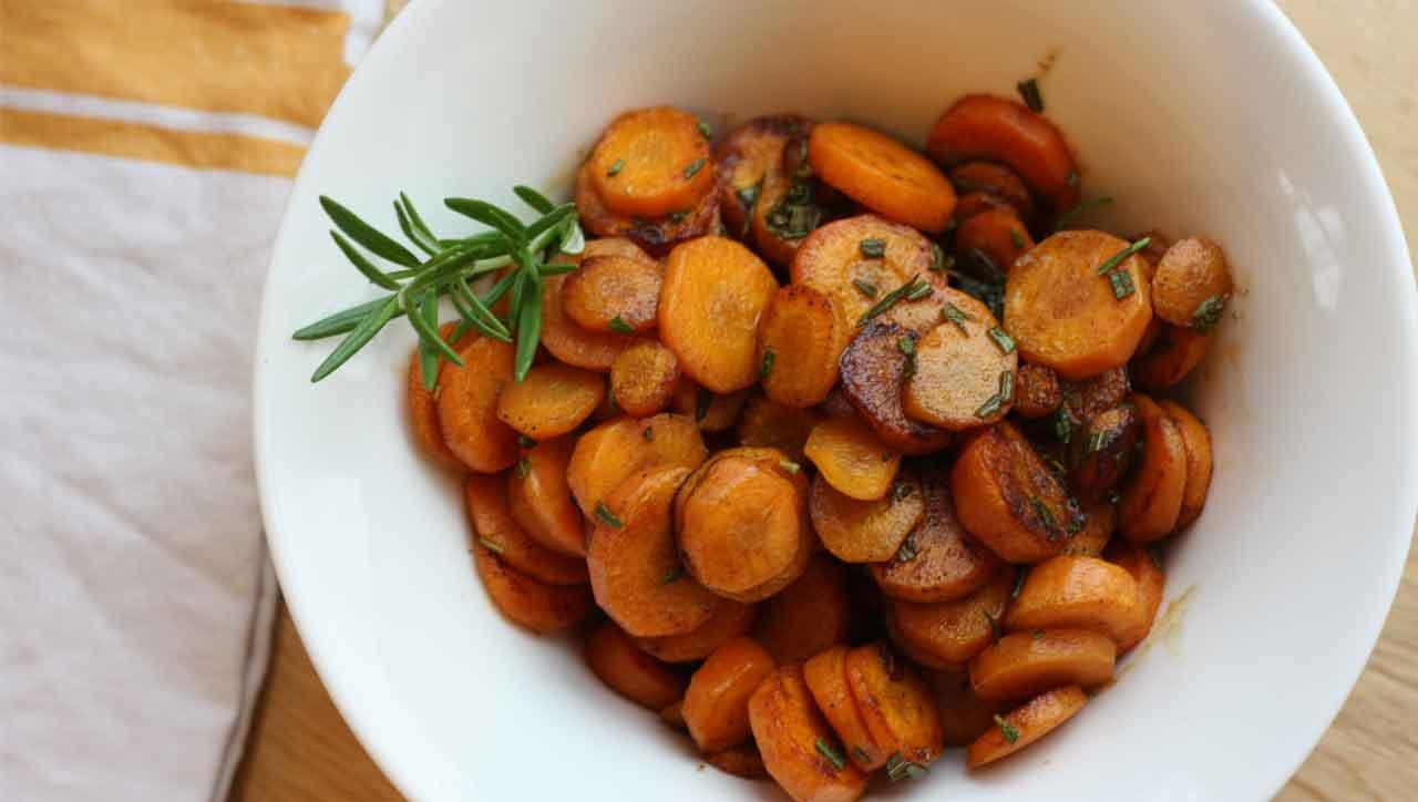Rosmarin Zimt Karotten