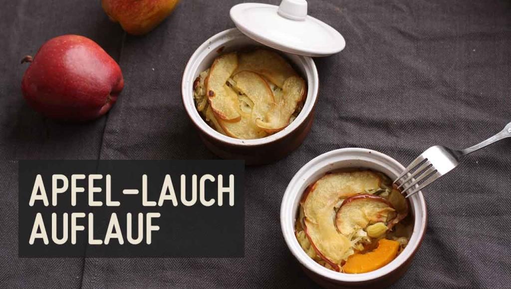 Apfel Lauch Auflauf