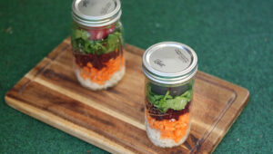 Salat im Glas Rezept