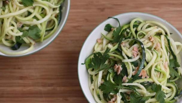 lowcarb spaghetti carbonara