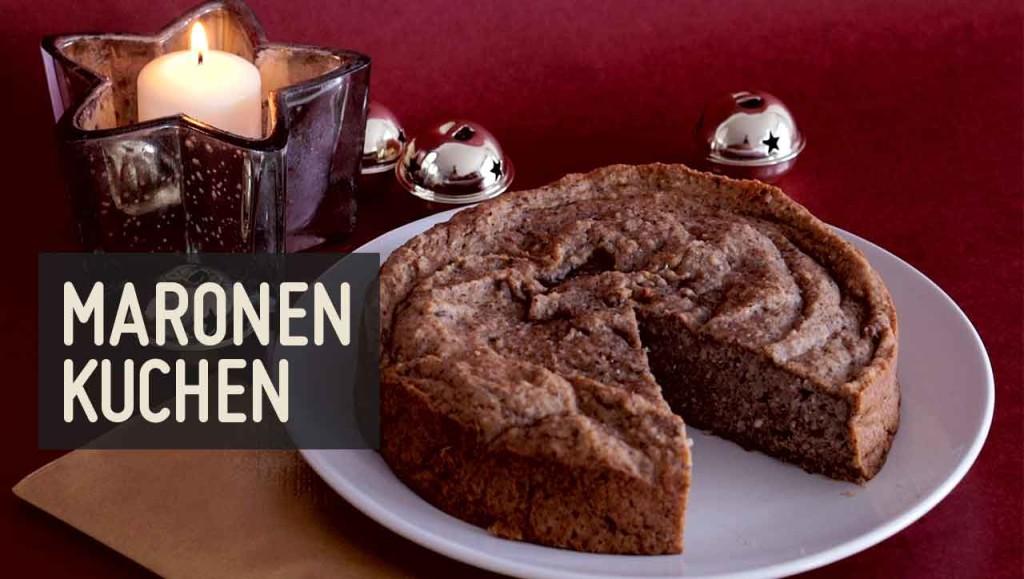Maronen Kuchen
