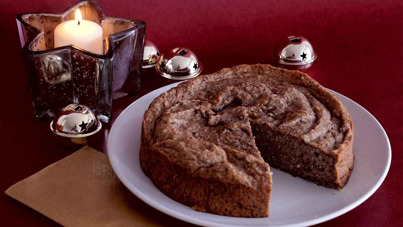 Der Maronenkuchen passt toll für den Adventssonntag