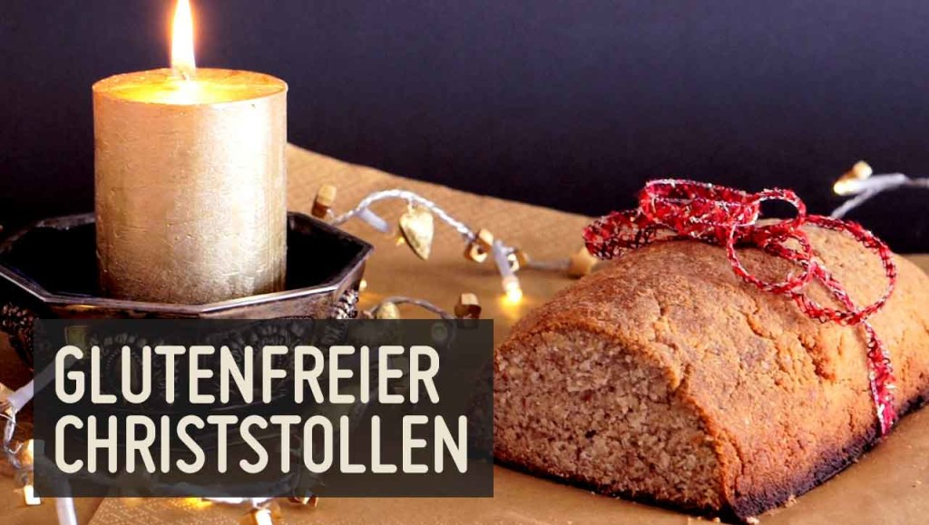 glutenfreier Christstollen