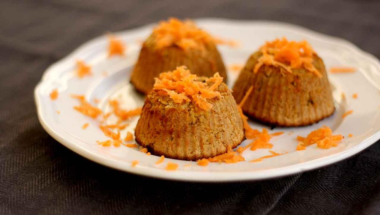 Karotten Küchlein ohne Nüsse (AIP)