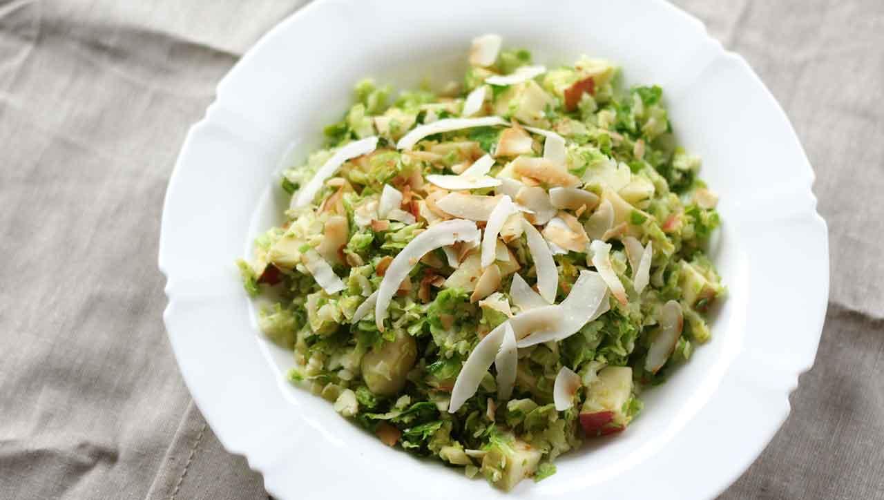 Rosenkohl Salat