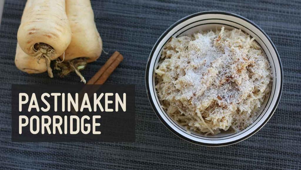 Pastinaken Porridge Rezept