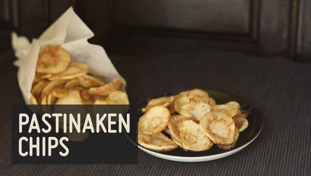 Pastinaken Chips