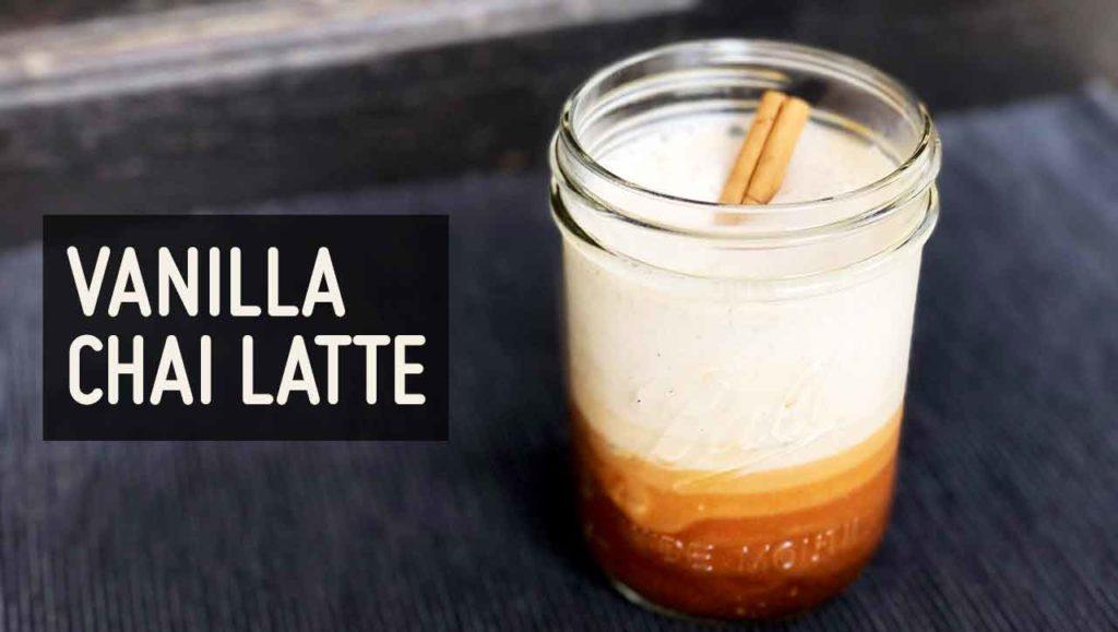 Vanilla Chai Latte