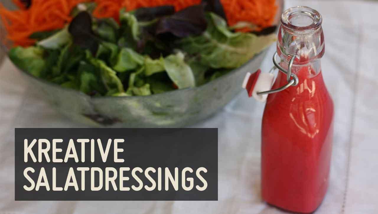 Fruchtig, nussig oder cremig: wie schmeckt dein liebstes Salatdressing?