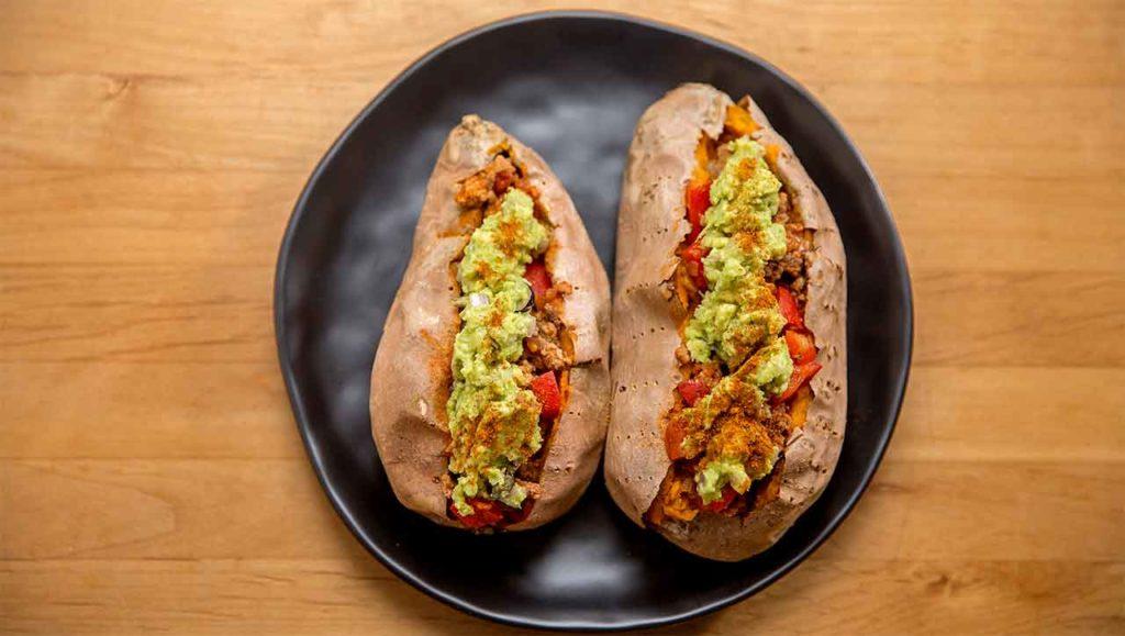 Süßkartoffel Tacos Rezept