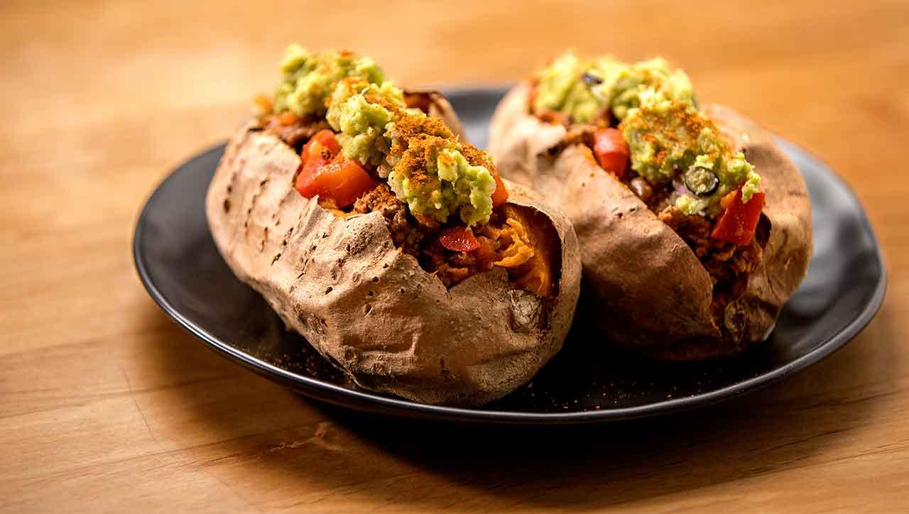 Süßkartoffel Tacos