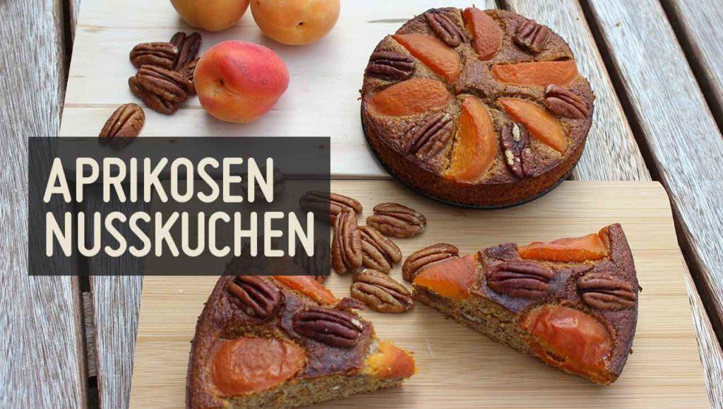 Aprikosen Nusskuchen