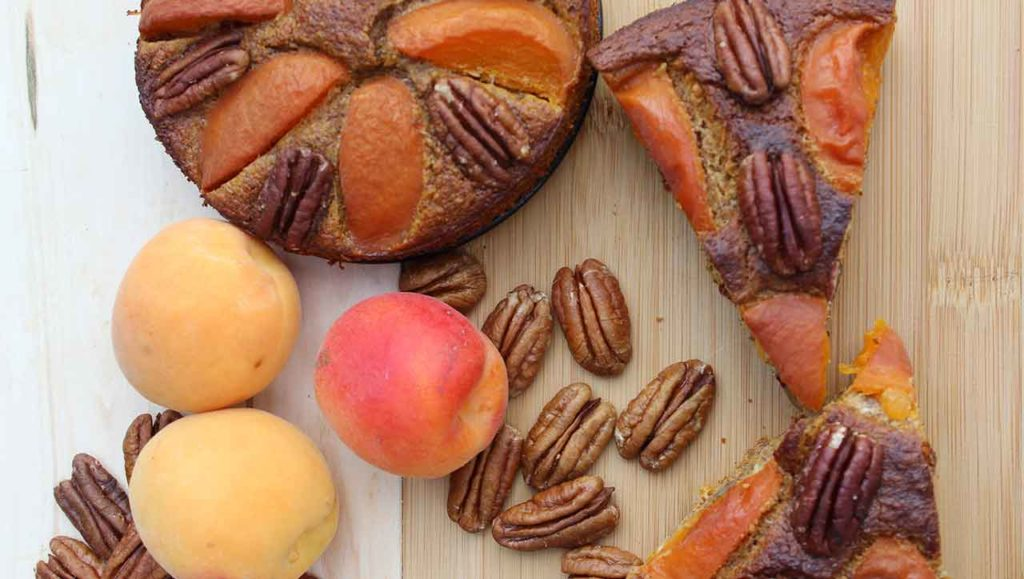 Aprikosen Nusskuchen Rezept