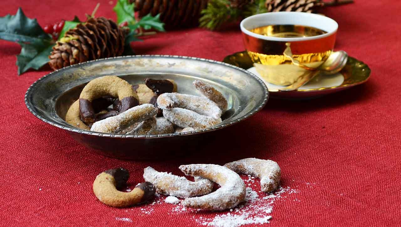 Ein Lieblingsklassiker der Weihnachtszeit: Schokokipferl