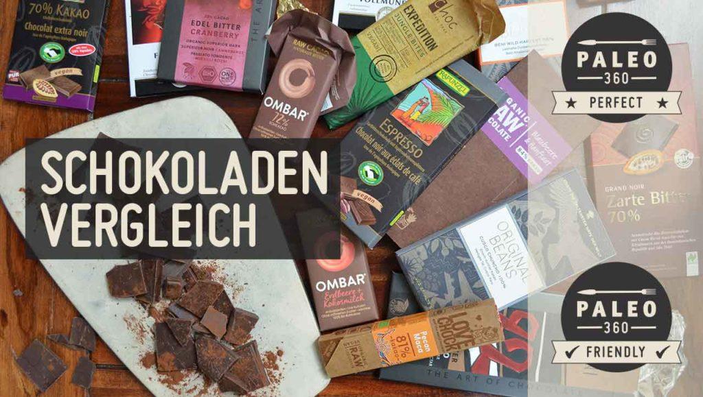 Schokoladen Vergleich