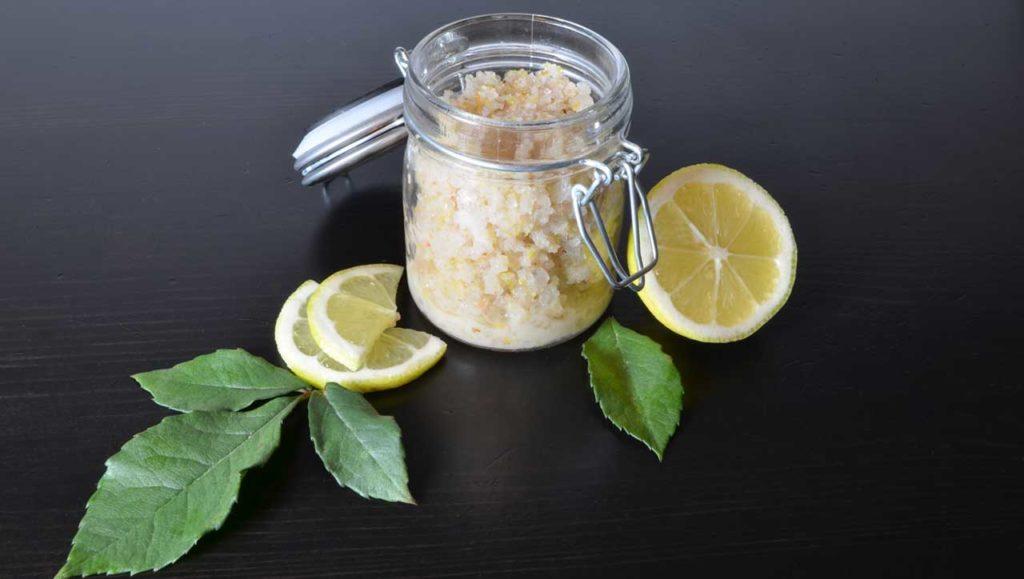 Erfrischende Hautreinigung Salz Peeling Selber Machen Paleo360de