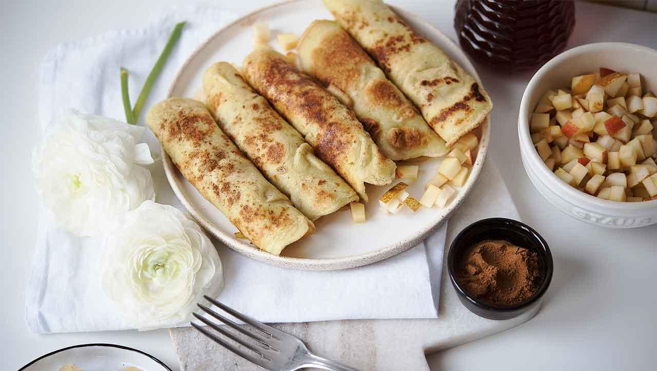Glutenfreie Crepes: Ein Gedicht für das gemütliche Frühstück