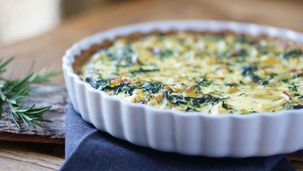 glutenfreie quiche backen