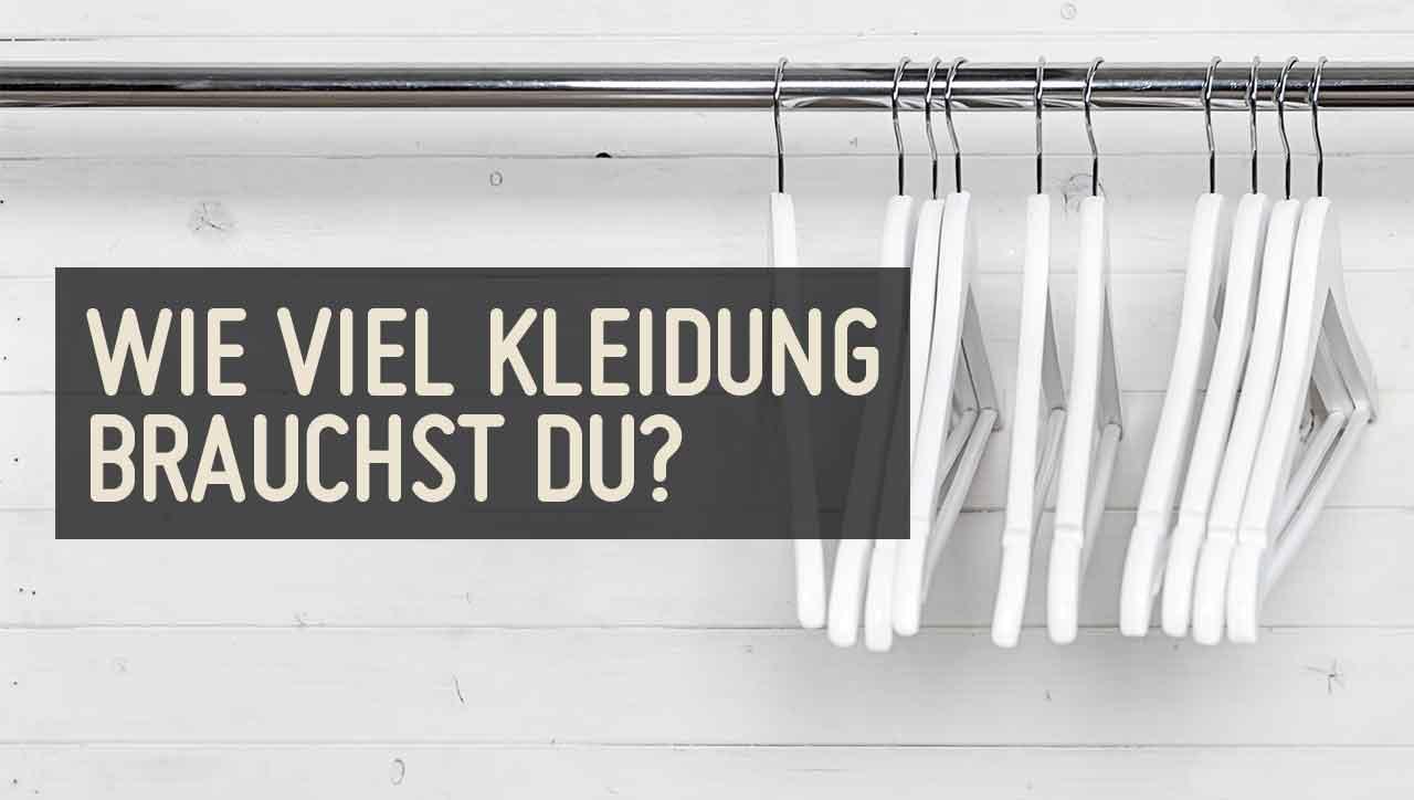 Nachhaltigkeit: Auch bei der Kleidung wichtig.
