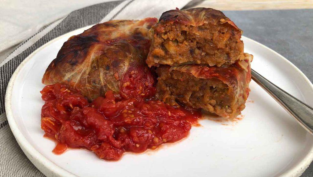 vegetarische kohlrouladen rezept