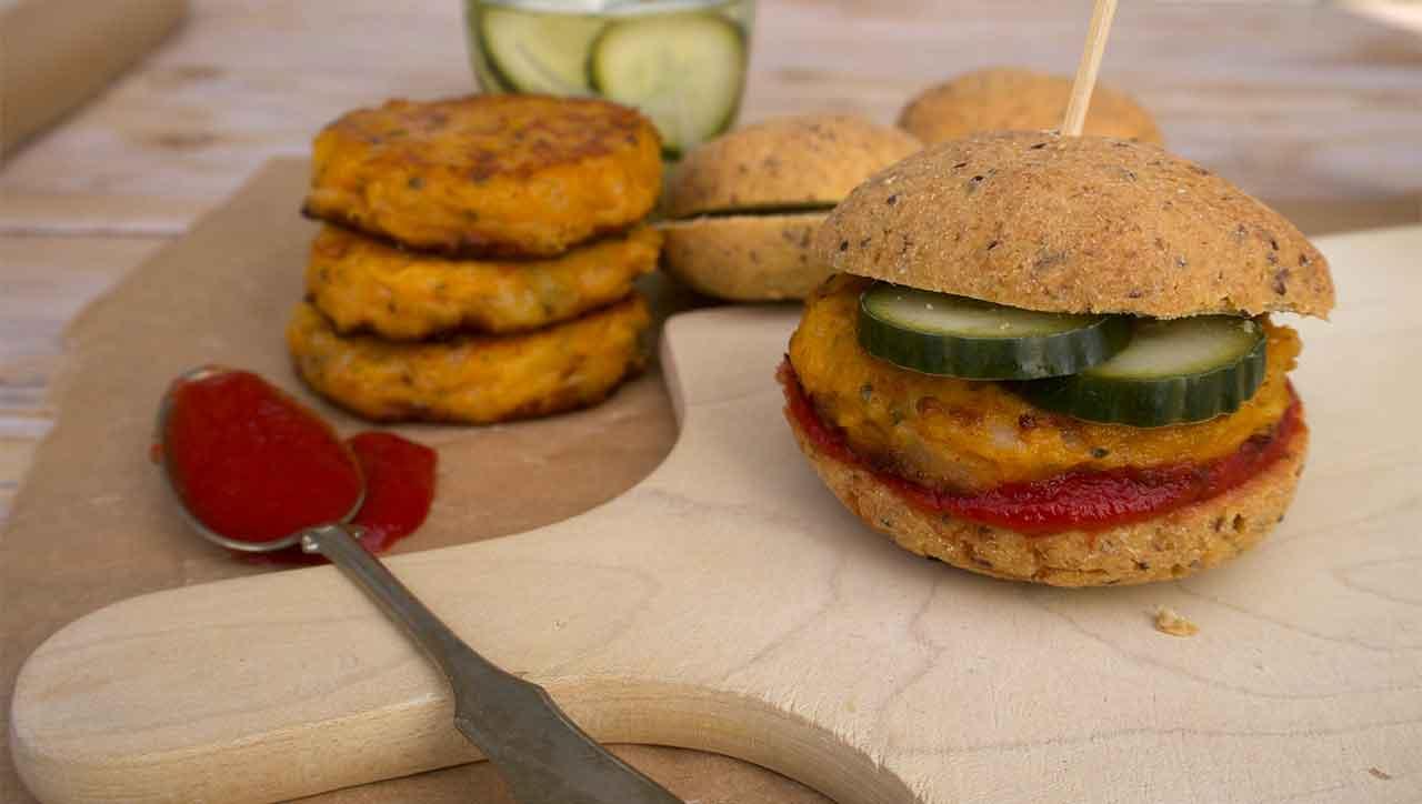 Der Veggie Burger beweist: Für´s Burger Feeling ist Fleisch nur optional.