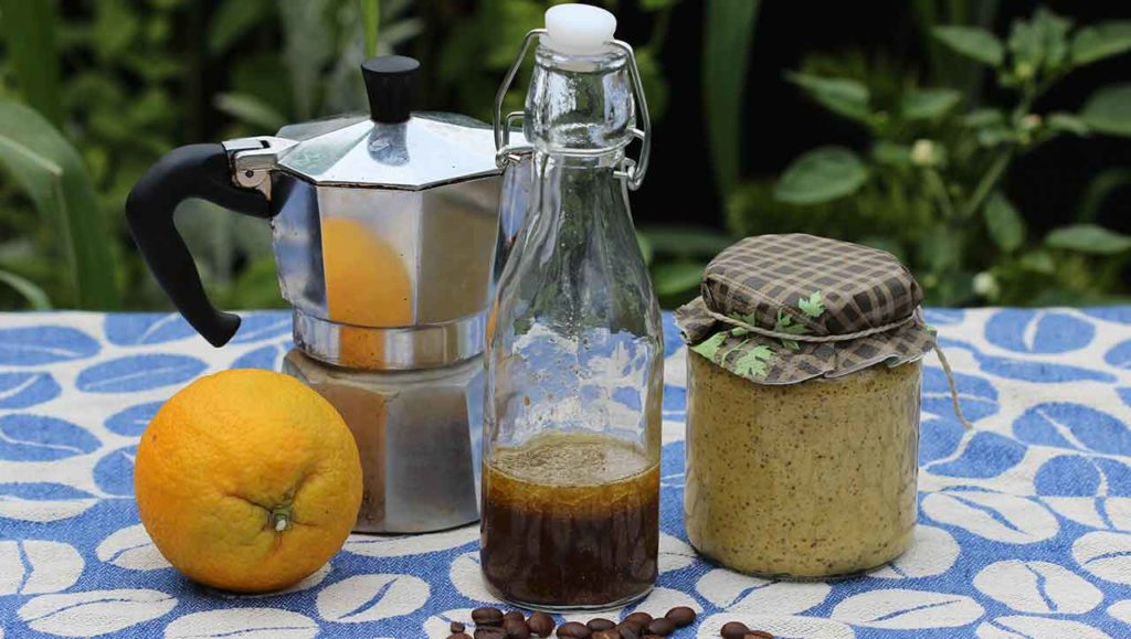Kaffeevinaigrette