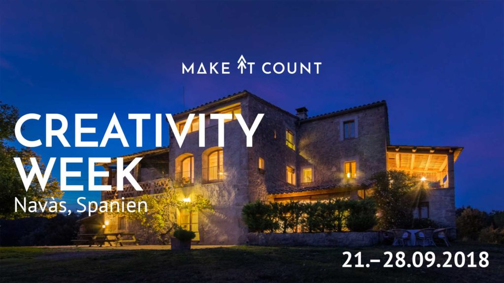 Creativity week MAKE IT COUNT