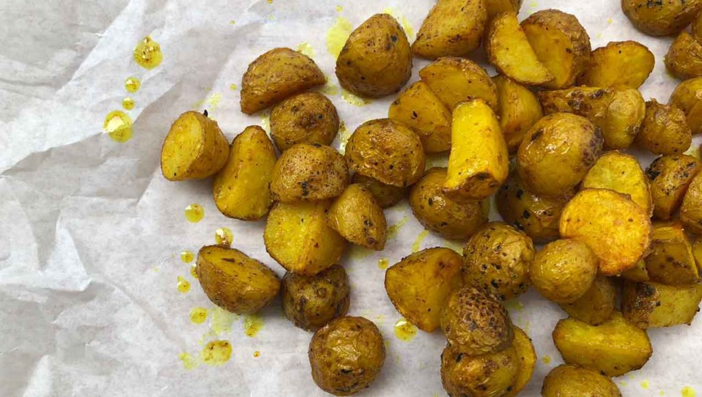 Kurkuma Kartoffeln Rezept