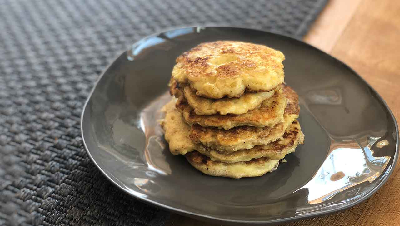 Ein neuer Liebling: Kartoffel Pancakes