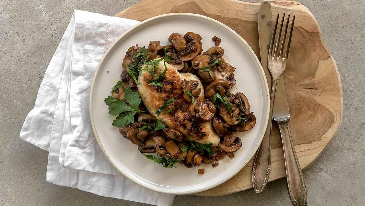 so schnell und einfach: Hühnchen Marsala ist ein Klassiker