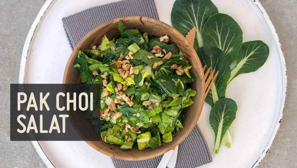 Pak Choi Salat