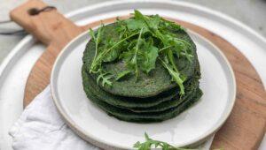 grüne Pfannkuchen Rezept