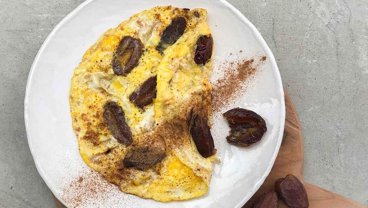 Nicht nur für Naschkatzen: Persisches süßes Omelett